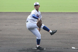 5安打1失点で完投した池村健太郎