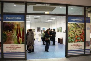Ein Blick in den Ausstellungsraum im Spree-Center