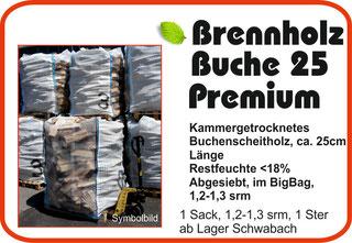 Günstiges Brennholz, Kaminholz, Scheitholz in Nürnberg, Schwabach, Fürth, Feucht, Wendelstein, Erlangen