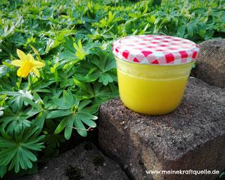 Naturkosmetik, Creme aus Gänseblümchen, selbstgemachte Creme