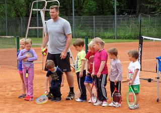 Kindertennis Mühlhausen Thüringen Tennis Verein