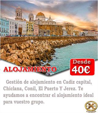 Encontrar alojamiento en Cádiz para una despedida