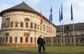 Bastion von Schönborn in Mainz-Kastell