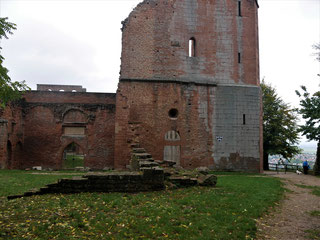 Klosterruine Limburg über Bad Dürkheim
