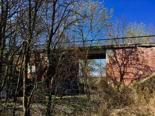 FORGOTTEN – the abandoned railway line with bridge