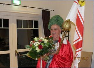 Der scheidende König: Seine Majestät König Reinhard I