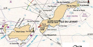 Découvrir Le Levant en louant un bateau au Lavandou