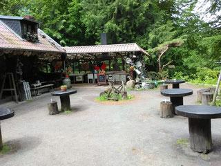 "Gaststätte ""Waldschänke"", Foto: Gisela Specht"