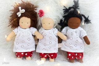 Junikate-Puppen, Waldorfpuppe, Waldorfpuppen, Waldorfdoll, Steiner-Doll, Junikate