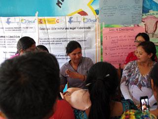 FUNDAP bietet regelmäßig Fortbildungen für ihre Absolventinnen