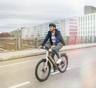 Stromer e-Bikes und Pedelecs in der e-motion e-Bike Welt in Bonn