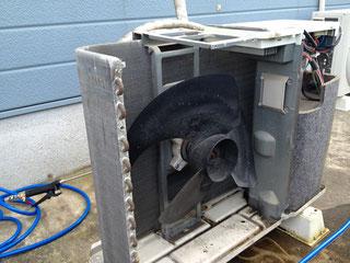 『エアコン徳島空調屋』 鳴門市 エアコンクリーニング 室外機