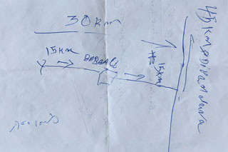 Manuelle Navigation...