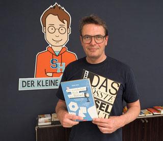 Stefan Heine ist einer der bekanntesten Rätselmacher Deutschlands. Foto: Christoph Schumann, 2021