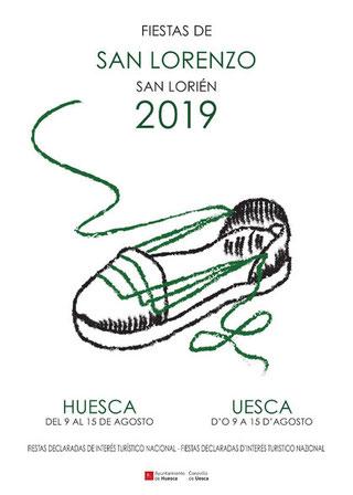 Fiestas en Huesca San Lorenzo