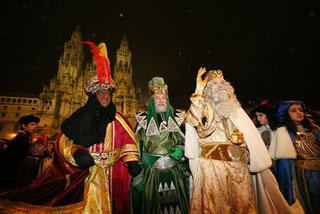 Fiestas en Santiago de Compostela Cabalgata de Reyes