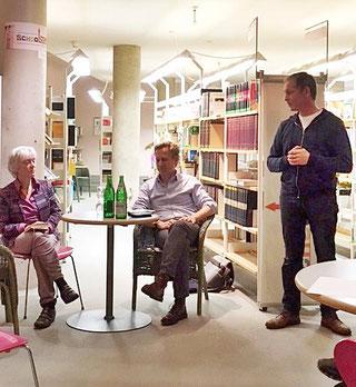 Christiane Kuby, Peter Terrin und Dr. Oliver Vogt. (Foto: U. Pelzer)