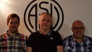 1. Vorstand Roman Wölfel, Werner Kirchhof, 2. Vorstand Gerhard Wölfel