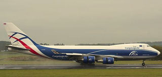 First 747-400F of ABC's Stansted-based offspring CargoLogicAir   -  courtesy ABC