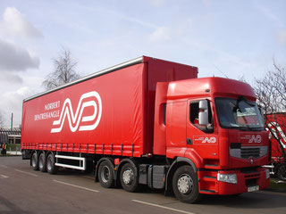 Norbert Dentressangle operates extensive European trucking network