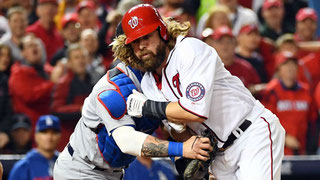 Jayson Werth è out a casa base (Foxsport.com)