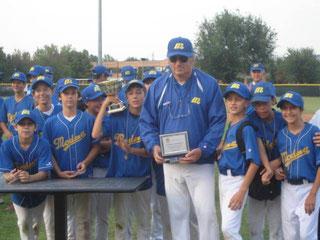 Roberto Gheduzzi in una foto tratta dal sito del Modena Baseball