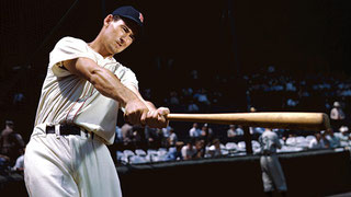 Nella foto Ted Williams 1918-2002 (Diamond Images/Getty Images
