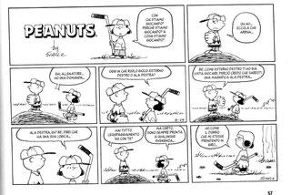 L'ultima striscia dei Peanuts disegnata da Schulz