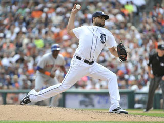 Nella foto Francisco K-Rod Rodriguez (Photo: Robin Buckson, Detroit News)