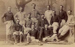 Foto da  Vintage Baseball Magazine (1882)