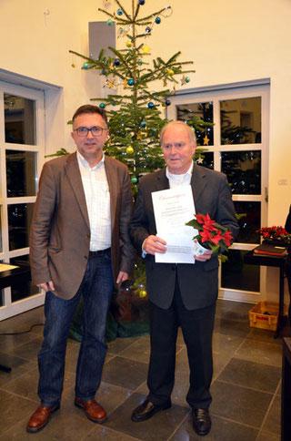 Gustav Hecker erhält Sonderpreis der Bonner CDU - das