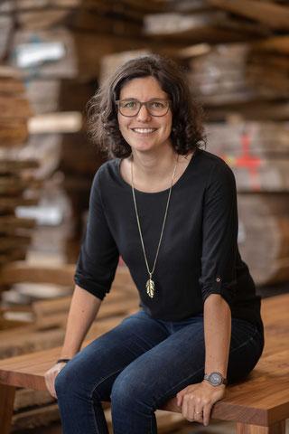 Julia Kasper ist eine Digitalisierungs-Vordenkerin für das Tischlerhandwerk. (Foto: tapio/Veres)