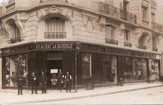 Glacière La Boréale à Paris début 20ème siècle