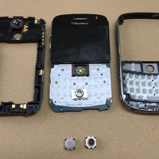 Blackberry Bold 9000 Trackball Reparatur