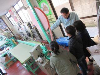 近隣小学生のおしごと体験のリクエストにお応えしている畳店