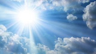 de zon is gezond