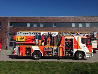 Exkursion zur Feuerwehr...