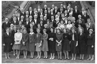 der Münsterchor zum 125-jährigen Jubiläum 1959