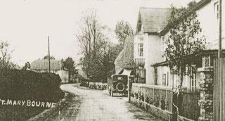 St. Mary Bourne um 1900