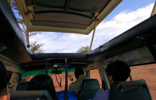 Our safari vehicle with Karibu Tours. maximum of 7 guests meant for a pleasant trip. Dante Harker