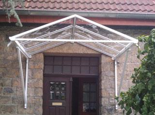 Vordächer aus Aluminium / Pulverbeschichtet - Hannover / Langenhagen