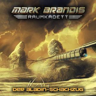 CD-Cover Mark Brandis Raumkadett 5 – Der Aladin-Schachzug