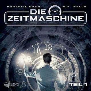 CD-Cover Die Zeitmaschine Teil 1
