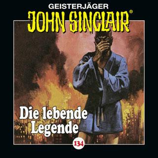 CD-Cover John Sinclair Edition 2000 - Folge 134 - Die lebende Legende