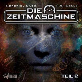 CD-Cover Die Zeitmaschine Teil 2