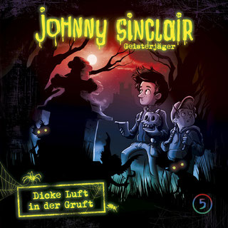CD-Cover Johnny Sinclair Folge 5