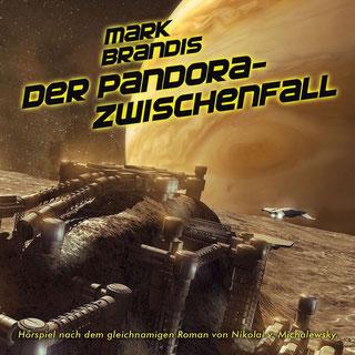 CD-Cover Mark Brandis 32 – Der Pandora-Zwischenfall