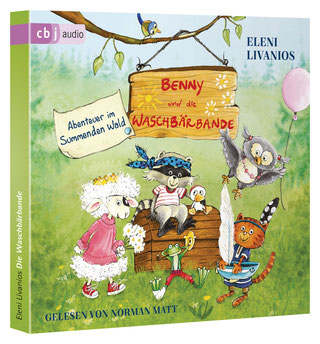 CD-Cover Benny und die Waschbärenbande 1