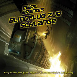 CD-Cover Mark Brandis 24 – Blindflug zur Schlange