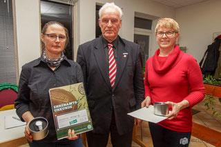 Christine Nahrgang, Henner Auffahrt und Katja Bodenbenner (von links)